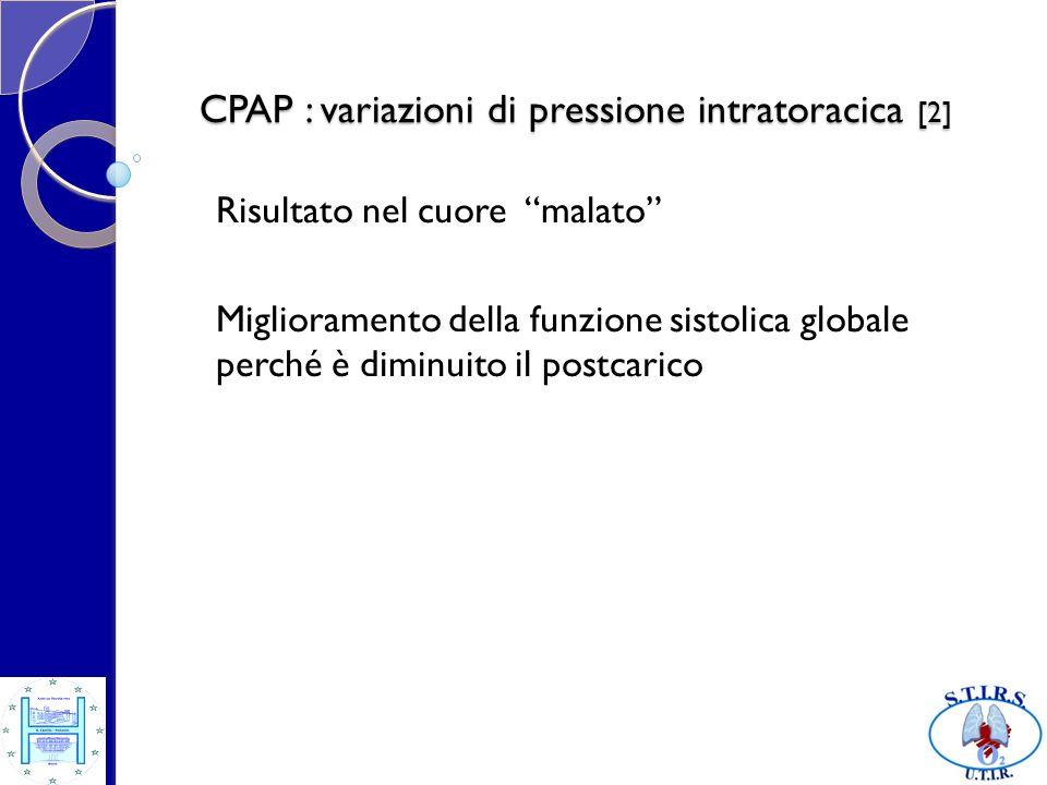 CPAP : variazioni di pressione intratoracica [2]